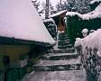 Chata Beckov v zime