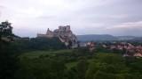 hrad Beckov  ,pohľad zo spálne