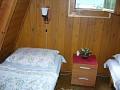 Chata Beckov - Spálňa  č.2 v podkroví